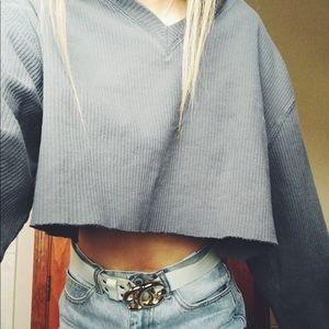 Calvin Klein cropped long sleeve